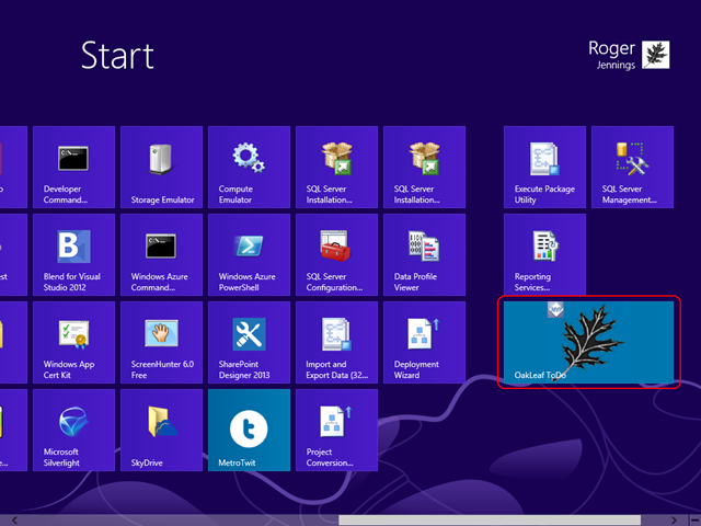 1-6 Start Menu Wide Tile