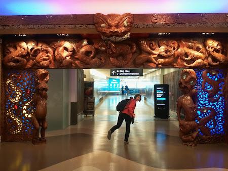 Aeroport Auckland - Noua Zeelanda