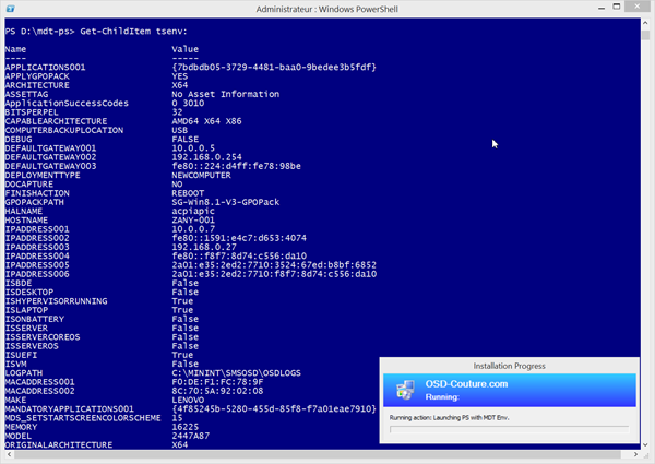 MDT 2013: Create a simulation environment for your Powershell