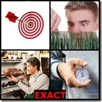 EXACT- 4 Pics 1 Word Answers 3 Letters