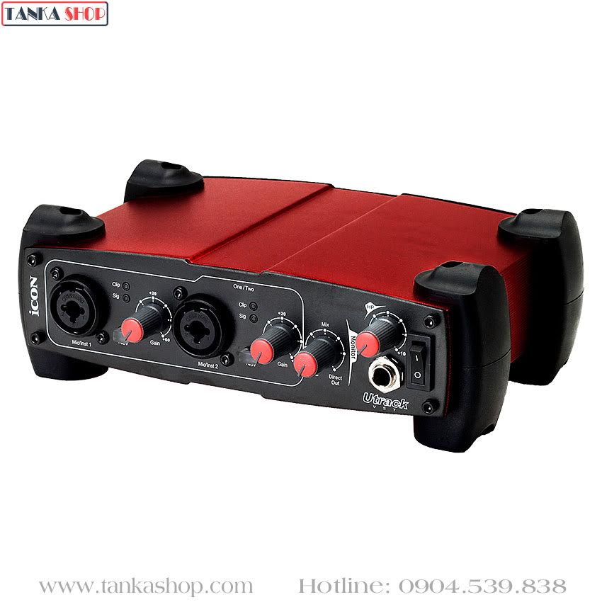 Sound card usb Icon Utrack