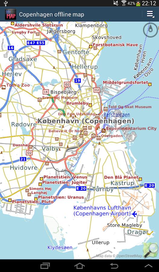 Copenhagen offline map Android Apps on Google Play
