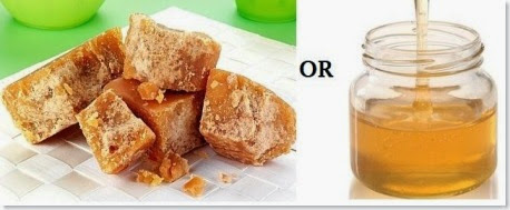 jaggery and honey