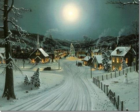 wallpaper-peisaje de iarna