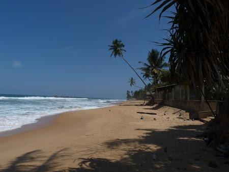 Imagini Sri Lanka: plaja Hikkaduwa