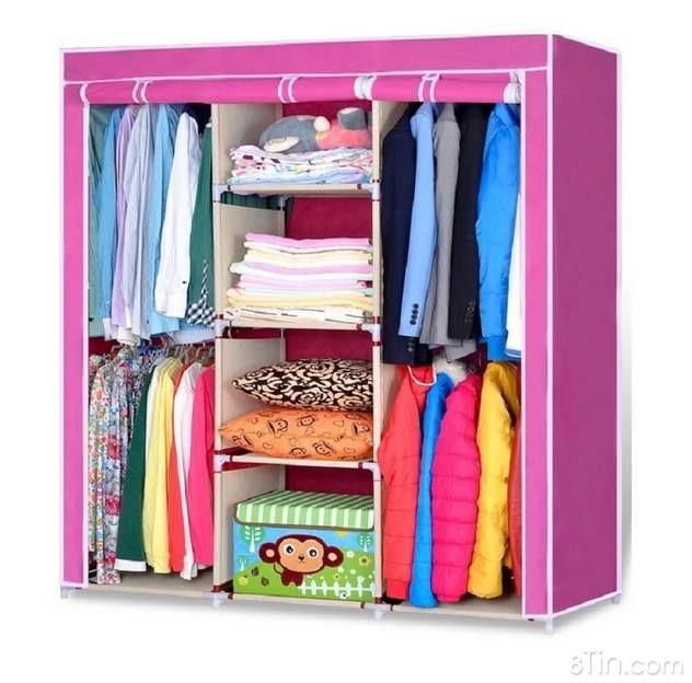 Y Tủ vải đựng dày dép quần áo giá chỉ từ 199000đ