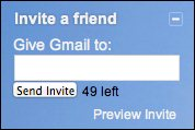 Invitacion de gmail para un amigo