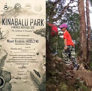 Hoàng Sơn từng vượt qua thử thách trong điều kiện khắc nghiệt khi tham gia leo núi.