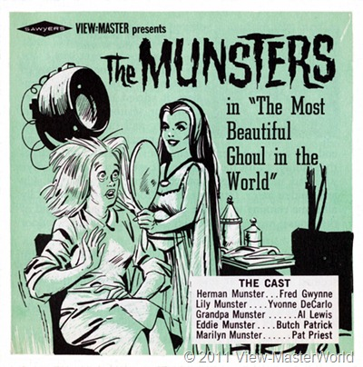View-Master The Munsters (B481), Booklet Cover