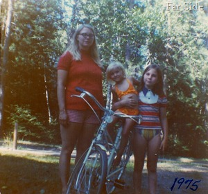 Connie, Trica and Julie Summer 1975