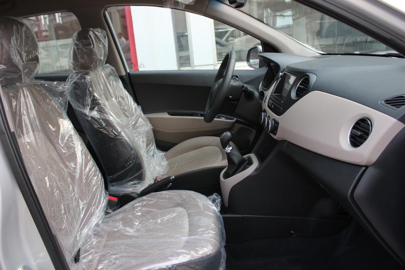 Xe Hyundai Grand i10 sedan 1.2MT Màu bạc 013
