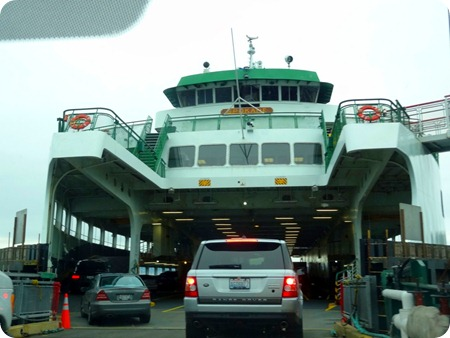 getting on ferry