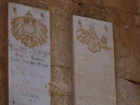 Imagini Liban: pe aici a trecut Kaiserul