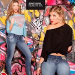 Angelica Jaramillo y Sofia Jaramillo Modelando D'Axxys Jeans Foto 14