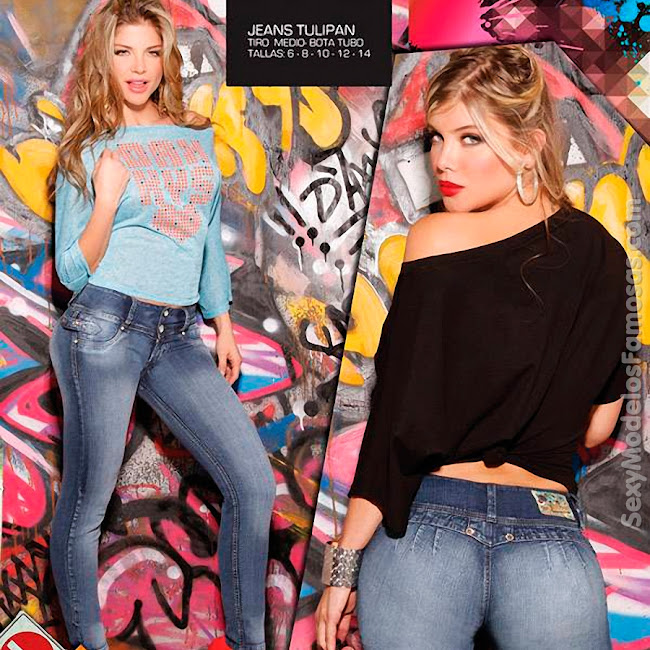 Angelica Jaramillo y Sofia Jaramillo Axxys Jeans Foto 14