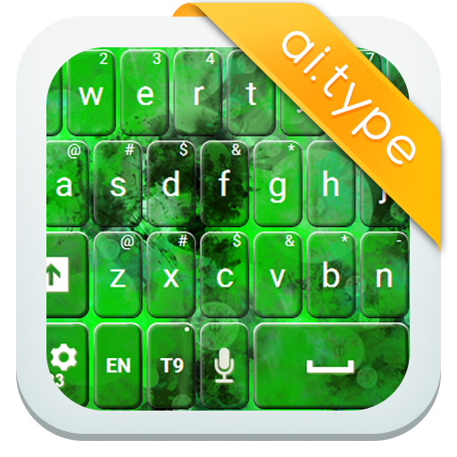 A.I.Type主题绿色א 個人化 LOGO-玩APPs