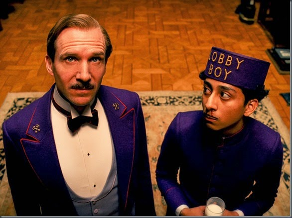 ralph fiennes and tony revolori THE GRAND BUDAPEST HOTEL