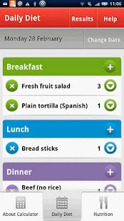 Pregnancy Diet Calculator - screenshot thumbnail