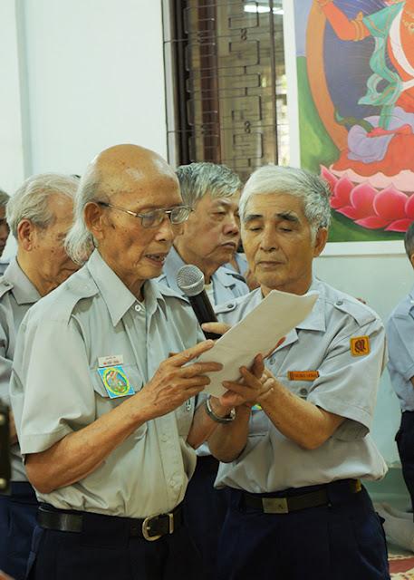 DSC06378 Lễ Hiệp kỵ   Lễ Huý Nhật Cư sĩ Sáng lập viên GĐPT Việt Nam   Tâm Minh Lê Đình Thám
