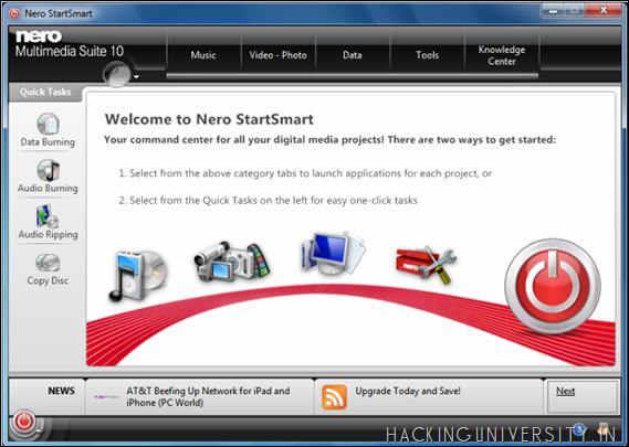Nero Multimedia Suite Nero StartSmart Review