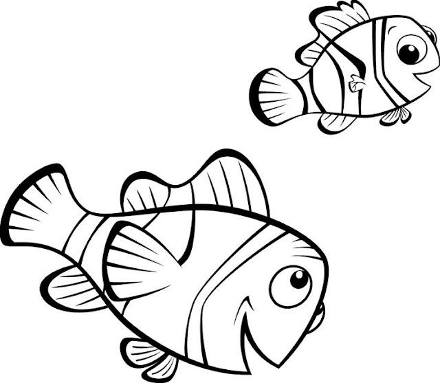 Nemo Dibujos Disney Para Colorear