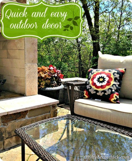 easy outdoor decor