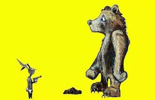 """""""Gấu! Đừng sợ súng gỉ của thằng Thỏ mà bốc cứt ăn!"""""""