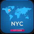 ニューヨークガイド、ホテル、天気、イベントマップモニュメント icon