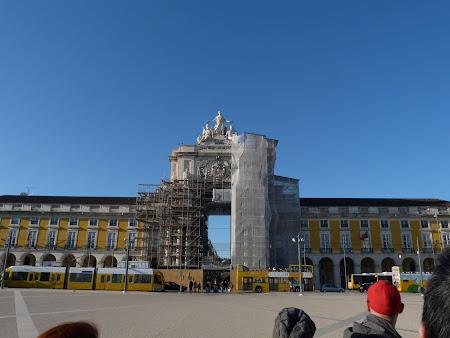 Obiective turistice Lisabona: Praca do Comercio