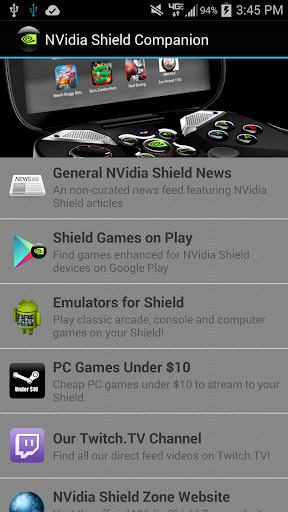 Download NVidia Shield Companion on PC & Mac with AppKiwi