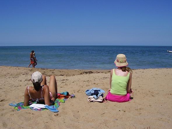 Praia em La Paloma