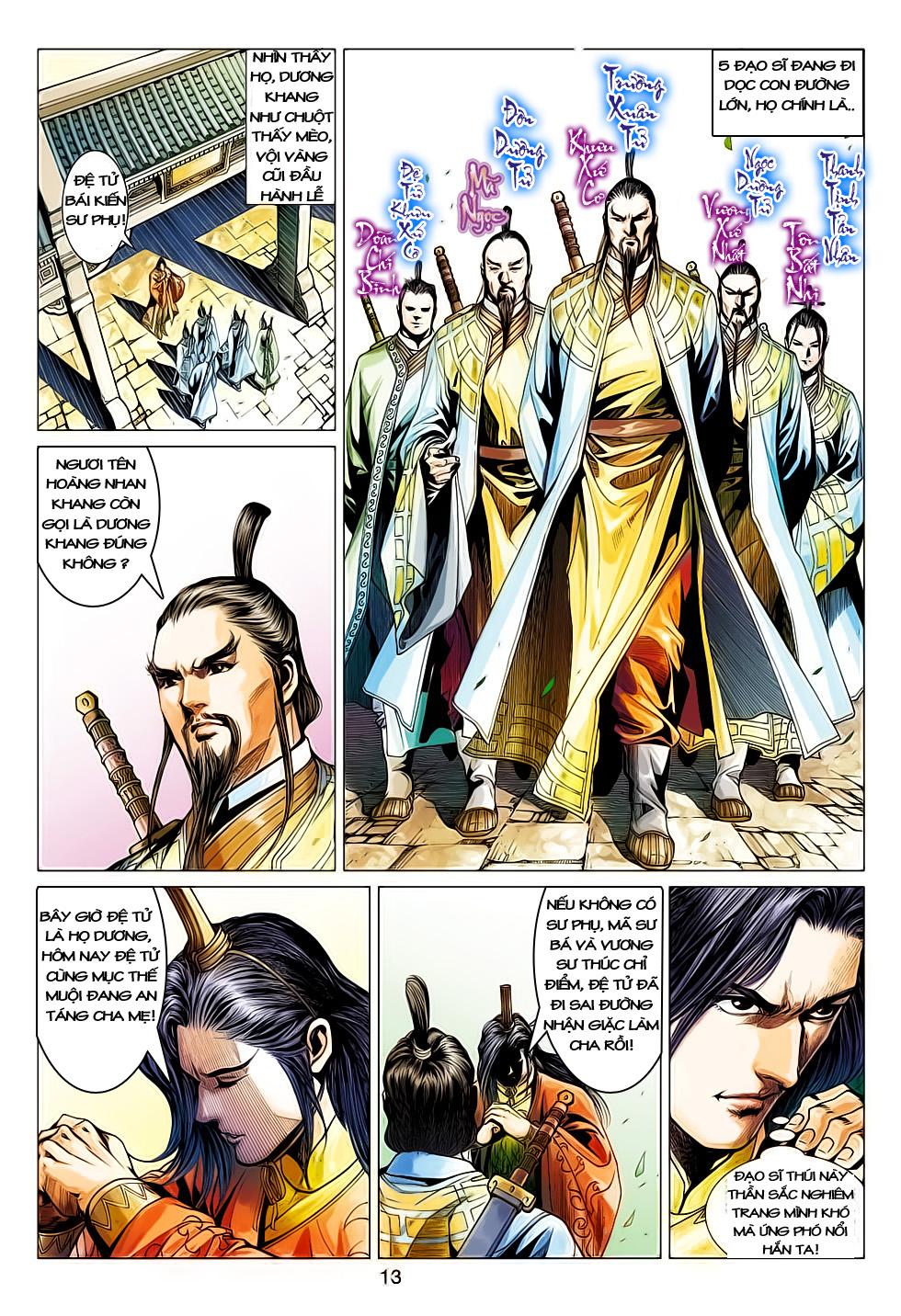 Anh Hùng Xạ Điêu anh hùng xạ đêu chap 61: thất tử chiến thiết thi trang 13