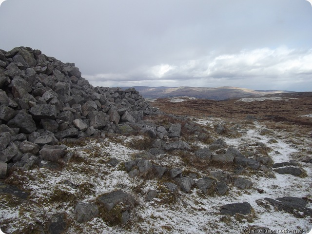 a big cairn somewhere