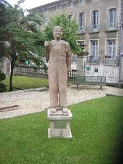 statue de Coluche