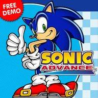 Sonic Advance para nokia