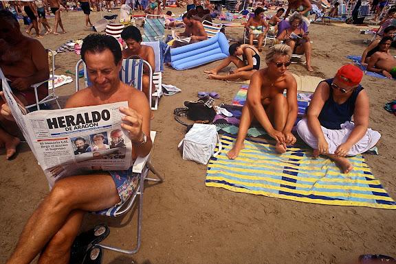Platja de Llevant Salou, Tarragonès, Tarragona 1995?