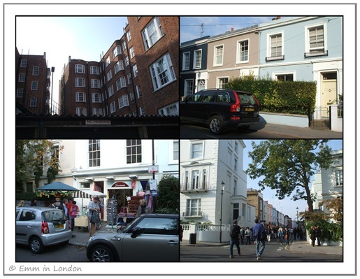 Houses and apartments in Portobello Road