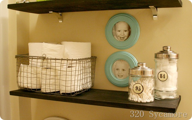 shelves kids bathroom 2