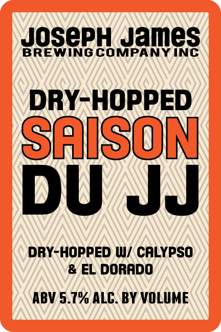 Logo of Joseph James Saison Du JJ Dry Hopped Saison