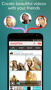 JumpCam - Friends Video Camera- screenshot thumbnail