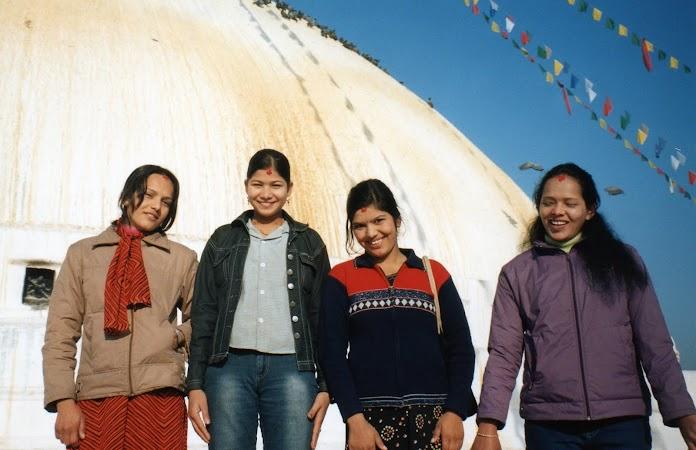 Imagini Nepal: nevasta mea din Kathmandu.jpg