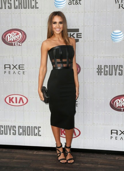 Jessica Alba Spike TV Guys Choice 2014 Arrivals