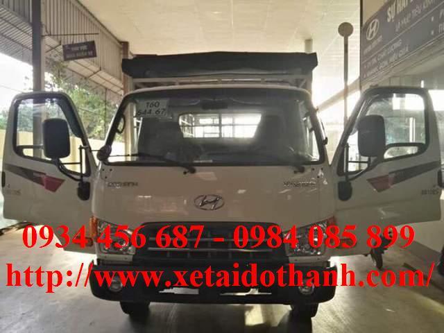 Hyundai HD120s thùng bạt