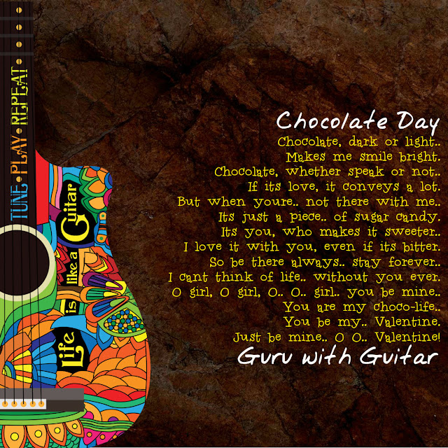 chocolate_day_poem_valentine_quote_guru_with_guitar_vikrmn_austerity_chartered_accountant_ca_author_srishti_verma_tpr_lyrics