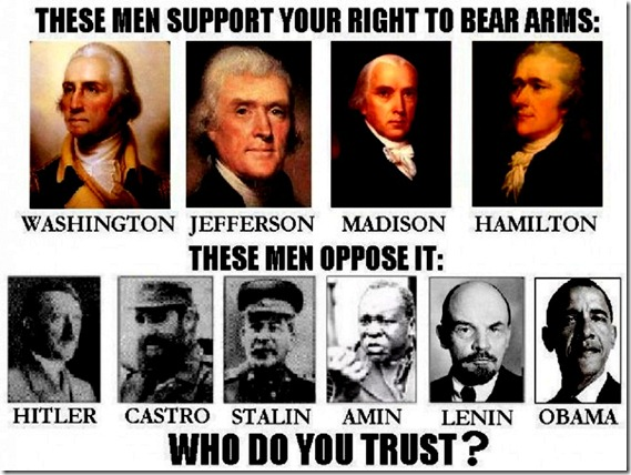 Bear Arms - Founding Fathers vs Dictator Socialists