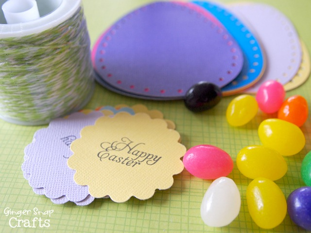 make paper eggs supplies #easter
