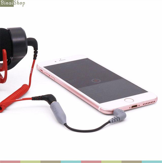 cable chuyển đổi micro 3.5mm cho smartphone