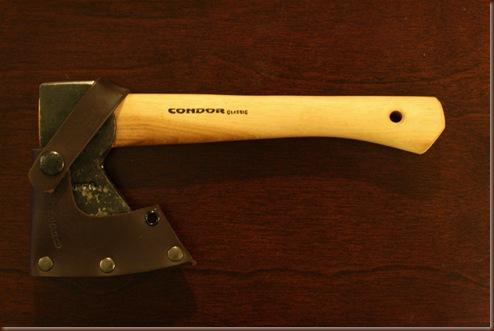 Wood Trekker: Condor Scout Hatchet Review