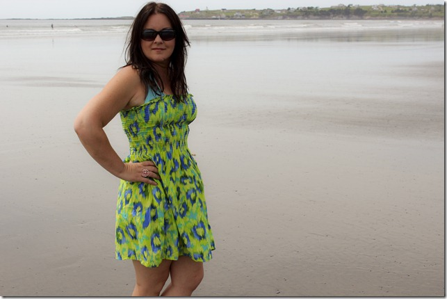 green beach dress_4388