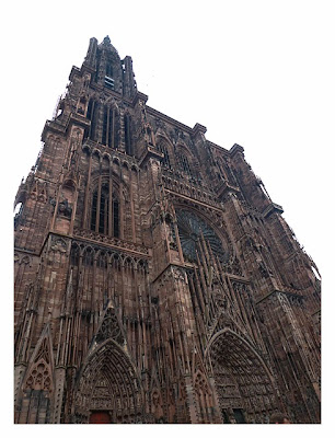 Radtour von Saarbrücken nach Straßburg: Kathedrale